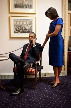 !~Behind every great man is an even greater woman~President Obama & Michelle Obama