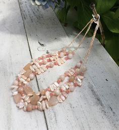 PEACHES AND CREAM – bellaPerlina Jewelry
