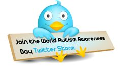 The World Autism Awareness Day 2012 Twitter Storm - 2nd April 2012 using hashtag #worldautismday