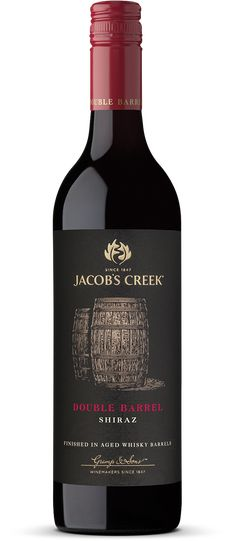 Jacob's Creek Double Barrel Shiraz Wine - COMPLEMENTS    Pan seared scotch fillet of beef wrapped in smoky bacon.