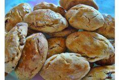 Broas de abóbora e frutos secos