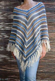 Ponchos Em Crochê - Inspirações