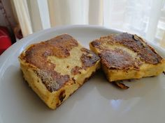 Dukan French Toast (microwave version)