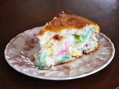 Make Angel Food Funfetti Cake using Peeps.