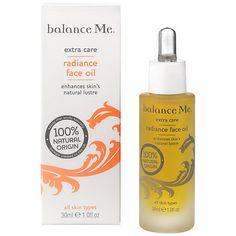 Buy Balance Me Radiance Face Oil, 30ml Online at johnlewis.com