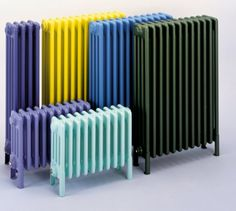#decoratecolorfully unconventional radiators