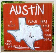 Left part of me in Austin...