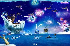 "ICEAGE 4 ""Walk the Plank"" Interactive game by 16012 Gutierrez, via Behance"