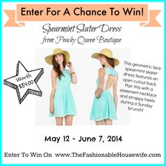 @The Fashionable Housewife giveaway