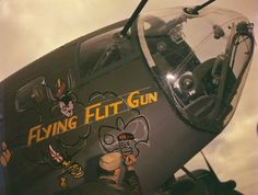Love the Nose Art. B-17 Flying Fortress.