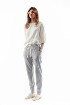 simple and comfortable loungewear // sweats // Steven Alan Spring 2014 Ready-to-Wear Collection
