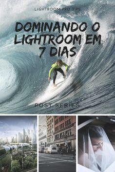 Lightroom PRO tips. Serie de posts onde você vai ver tudo sobre como usar o Lightroom em apenas 7 dias. Desde importar suas fotos, passado pelas edições até a melhor forma de exportação. Acompanhe a serie e Domine o Lightroom em 7 dias.