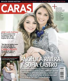 Sofia Castro y Angelica Rivera - Caras Magazin #Caras #AnegelicaRivera