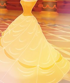 One of the most memorable things for me in this movie when i was little. Her dress twirling and curling in around her.