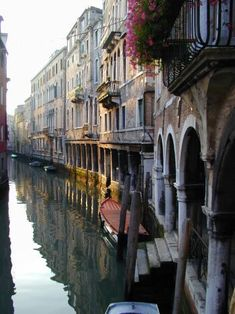 ♔ Venice early morning