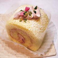 シートスポンジで作る、母の日ロールケーキ
