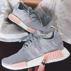 Adidas Women Shoes - ADIDAS Women Running Sport Casual Shoes NMD Sneakers Grey - We reveal the news in sneakers for spring summer 2017 Grey Adidas Nmd, Adidas Shoes Nmd, Gray Adidas Shoes, Addidas Shoes Running, Adidas Nmd Women Outfit, Nmd Outfit Women, Women Nike Shoes, Nike Women, Outfit