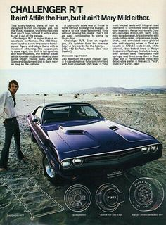 Dodge Challenger R/T advert