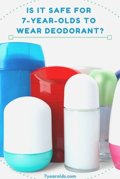 Hygiene is a very important thing to teach our children even at a young age. But is it safe for our 7-year-olds to be wearing deodorant? #hygiene #forkids