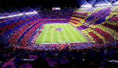Animated gif uploaded by DedéRapha. Find images and videos about gif and Barcelona on We Heart It - the app to get lost in what you love. Camp Nou Barcelona, Fc Barcelona, Messi, Real Madrid Atletico, Burning Bridges, Uefa Champions, Reasons To Live, Sports And Politics, Coaching