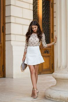 Spring Outfit Ideas by Larisa Costea from The Blog The Mysterious Girl