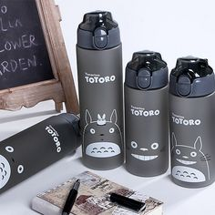 Cheap powder shaker bottle, Buy Quality shaker bottle directly from China sports water bottle Suppliers: Cartoon Cat Plastic Sports Water Bottle Space Young Bike/Outdoor/Climbing/Camp Powder Shaker Bottle High Quality Cute Water Bottles, Drink Bottles, Totoro Merchandise, Powdered Water, Plastic Mugs, Plastic Bottle, Shaker Bottle, Kawaii Accessories, My Neighbor Totoro