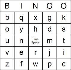 Free Printable Alphabet Bingo Cards and Bingo Game released by Answers 2000 Bingo Card Maker, Bingo Cards, Printable Cards, Abc Bingo, Alphabet Bingo, Abc Activities, Vocabulary Activities, Preschool Printables, Preschool Ideas