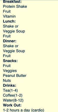 this is adriana lima the VS models actual daily diet. all i can say is that this is super intense.