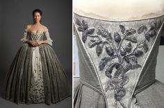 Outlander Wedding Dress Pumpkin