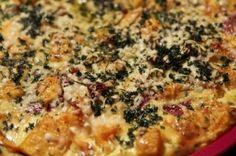 Parmesantarte mit Kürbis und Sauerrahm