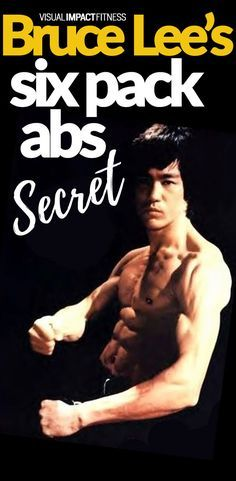 Bruce Lee had incredible abs, especially for the era when his movies were released. Here's one of the top exercises he used to get such defined abs. #sixpack #abexercises #absworkout #flattummy #exercisefitness #fitnessgoals