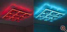 Deckenleuchten LED - moderne Wohnzimmer, Schlafzimmer, Küche, Flur & Bad