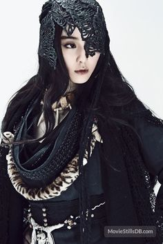 The White Haired Witch of Lunar Kingdom promo shot of Fan Bingbing