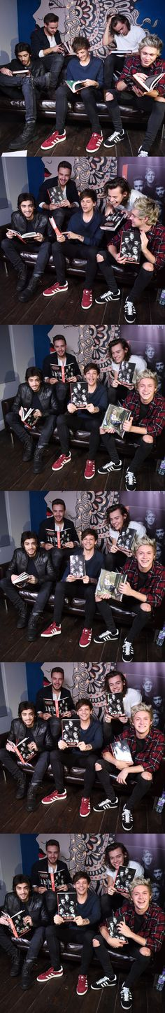 Dec 10, 2014 in London for their book signing