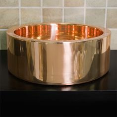 Copper Vegetable sink.  Yeah.