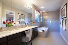 want this shower! Model Homes, Master Bath, My House, Bathrooms, Texas, Shower, How To Plan, Park, Live