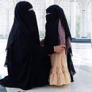 Niqab Muslim Woman Read New Book By John