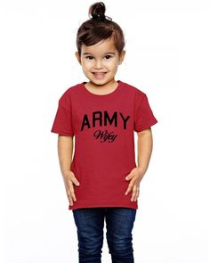 army wifey Toddler T-shirt