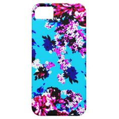 Blue Shabby Chic Floral iPhone 5/5s iPhone 5 Case