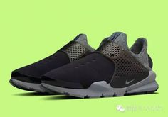 official photos b7eef 6ff3a 2018 Discount New Arrival Summer 2017 Running Shoe Nike Sock Dart Oreo Slip  On Anthracite Dark Grey Youth Big Boys Shoes