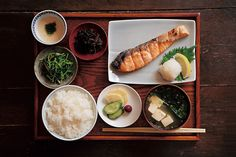 japanese breakfast/和朝食