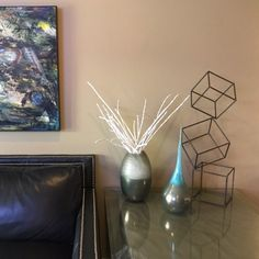 Large Mid Century Modern Metal Sculpture Art Abstract Simple Contemporary Decor Modernist by Petrykowski Artworks Steel Seal, Steel Art, Metal Art Sculpture, Modern Sculpture, Sculptures For Sale, Silver Paint, Acoustic Panels, Contemporary Decor, Art Techniques