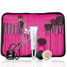 Get Runway-Ready! Lauren's September collection has everything you need to become your own makeup artist at home! $49.99 Collection includes: Avon Pro Brush Collection Includes 12 brushes. Avon Pro Brush Case, Anew Clinical Absolute Even Dark Circle Corrector, 3-in-1 Sharpener, mark Make Me Lash Eyelash Eyelash Curler & Avon Eyeshadow Primer. Shop now at https://krislingsch.avonrepresentative.com