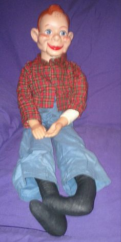 Vintage 1972 Howdy Doody Ventriloquist by oldnsalvagedtreasure, $80.00