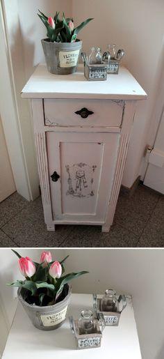 DIY Shabby Chic Kleiderschrank Shabby, Shaby chic and DIY furniture - shabby chic vorher nachher
