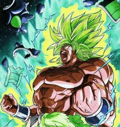 Broly (Dragon Ball Super: Broly) by LordGuyis on DeviantArt Dragon Ball Gt, Broly Ssj4, Anime Zone, Ball Drawing, Animes Wallpapers, Fan Art, Anime Comics, Sketches, Artwork