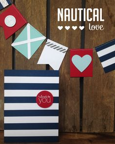 I found this on the Stampin' Up! homepage.  Perfect for a Nautical themed party or 4th of July celebration Order Supplies Online: essentials.stampinup.net