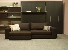 Tango Sofa | Resource Furniture | Queen Size Wall Bed