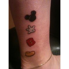 fuck yeah, disney tattoos