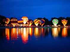 August 20 - September 1: Callaway Gardens Sky High Balloon Festival in Pine Mountain, Georgia